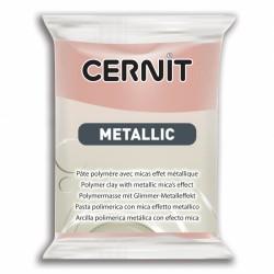 Pâte CERNIT Metallic Or Rose N°052
