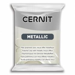 Pâte CERNIT Metallic Argent N°080