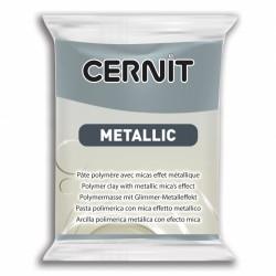 Pâte CERNIT Metallic Acier N°167