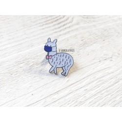 Pin's Lama Masqué