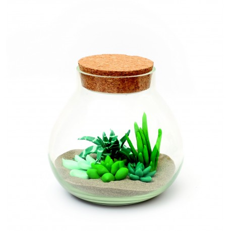 Kit terrarium à modeler en pâte FIMO