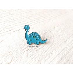 Pin's Dino Bleu * Pin's en émail