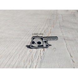 Pin's Panda   I love nap