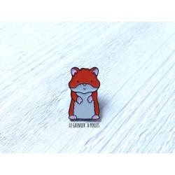 Pin's Hamster mignon