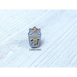 Pin's Bubble Tea Licorne