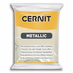 Pâte CERNIT Metallic Jaune N° 700