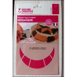 "Gabarit ""Mosaïque"" ( Gabarit Pâte Polymère )"