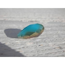 Perle Goutte 20 mm Turquoise Opal AB