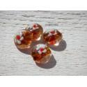 1 Perle palet Bombé 16 mm