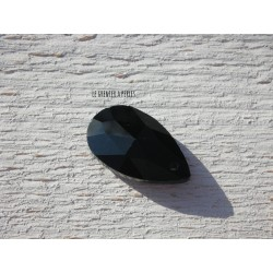 Perle Goutte 22 x 12 mm Black