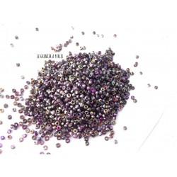 R11/0 Etched Crystal Magic Purple 95500E Rocailles Miyuki 11/0