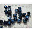 Perles Cubes 4 mm